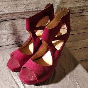Guess Shoes - Guess Pink Heels 11